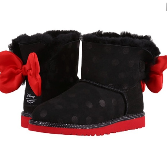8da22bade29 Ugg limited edition Minnie Mouse Sweetie bow boots